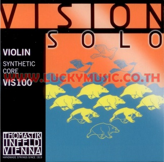 VISION SOLO Violin Strings Synthetic Core VIS100