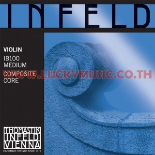 INFELD BLUE Violin Strings IB100 Medium Composite Core